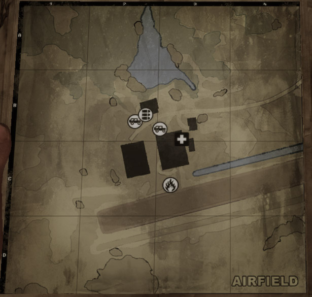 Airfield - Click the image to go back