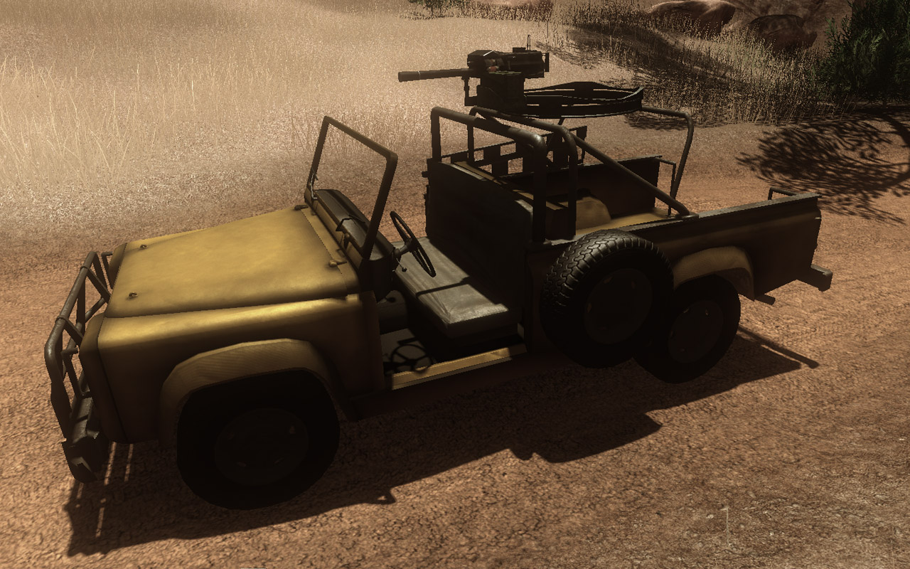 Assault Truck (Grenade Launcher) (Click image or link to go back)