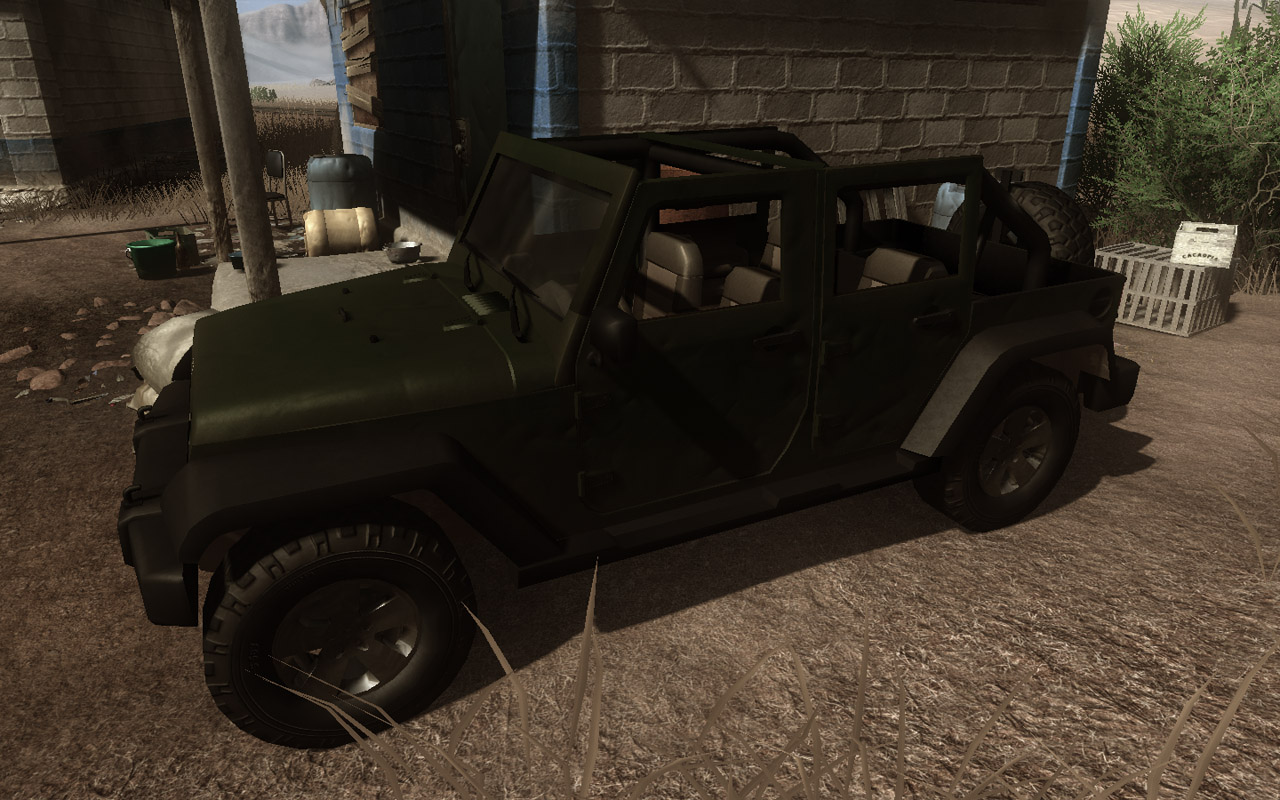Jeep Wrangler (Click image or link to go back)